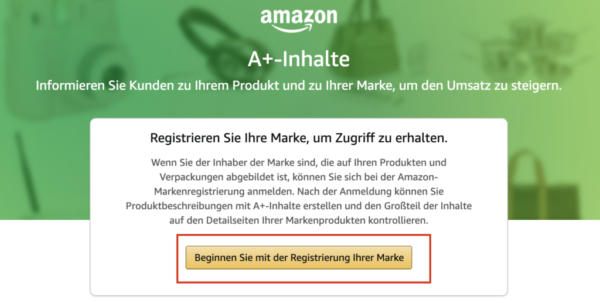 Marke registrieren